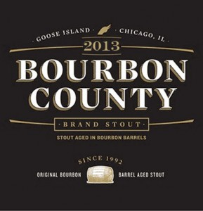2013 Bourbon County Brand Stout Label