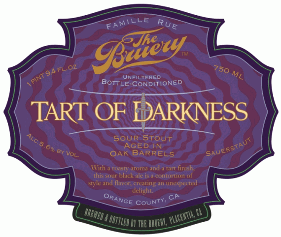 Tart of Darkness Label