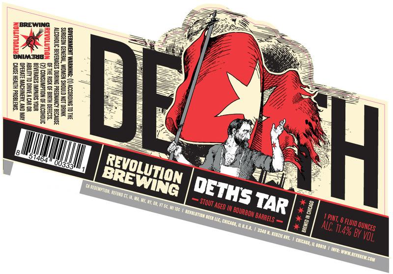 Deth's Tar Label